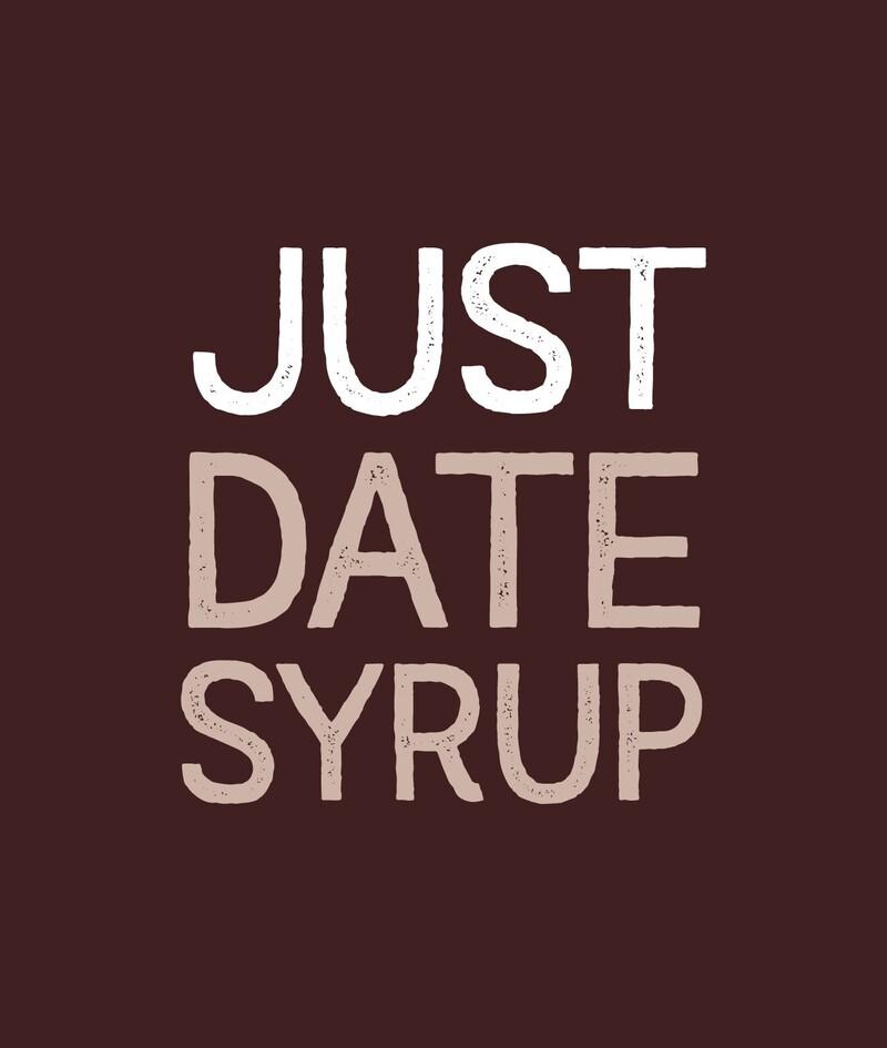 Just date syrup sugar branding packaging design4