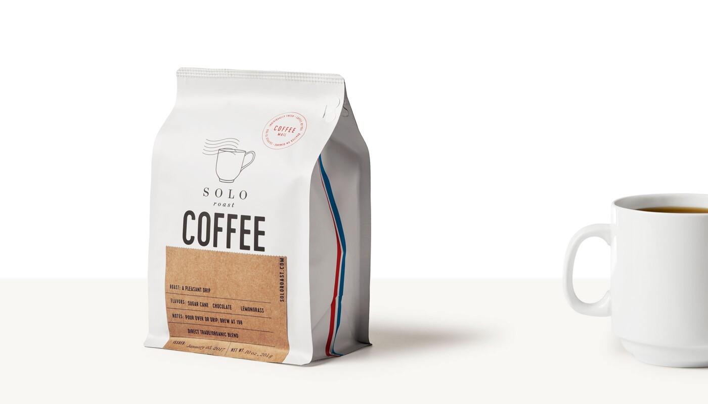 Solo roast coffee branding packaging design2