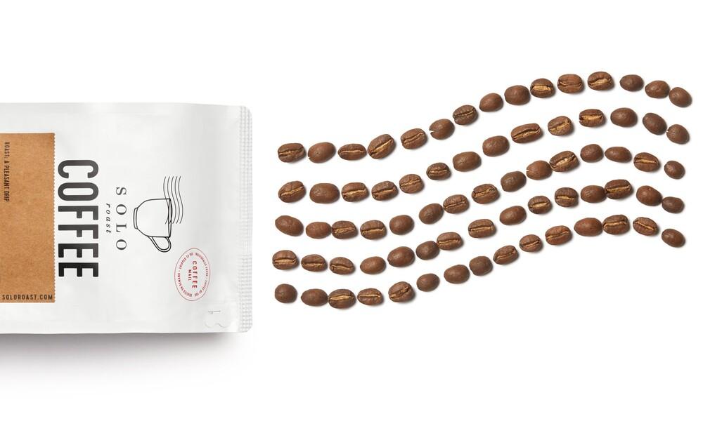 Solo roast coffee branding packaging design4