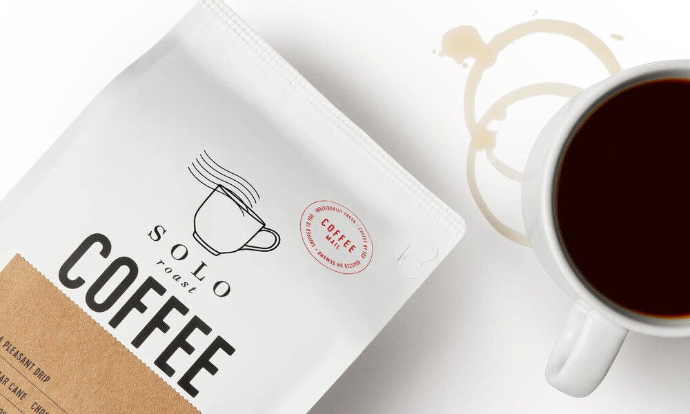 Solo roast coffee branding packaging design6