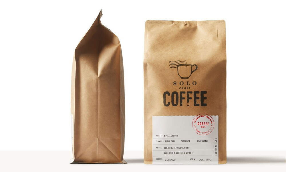 Solo roast coffee branding packaging design7