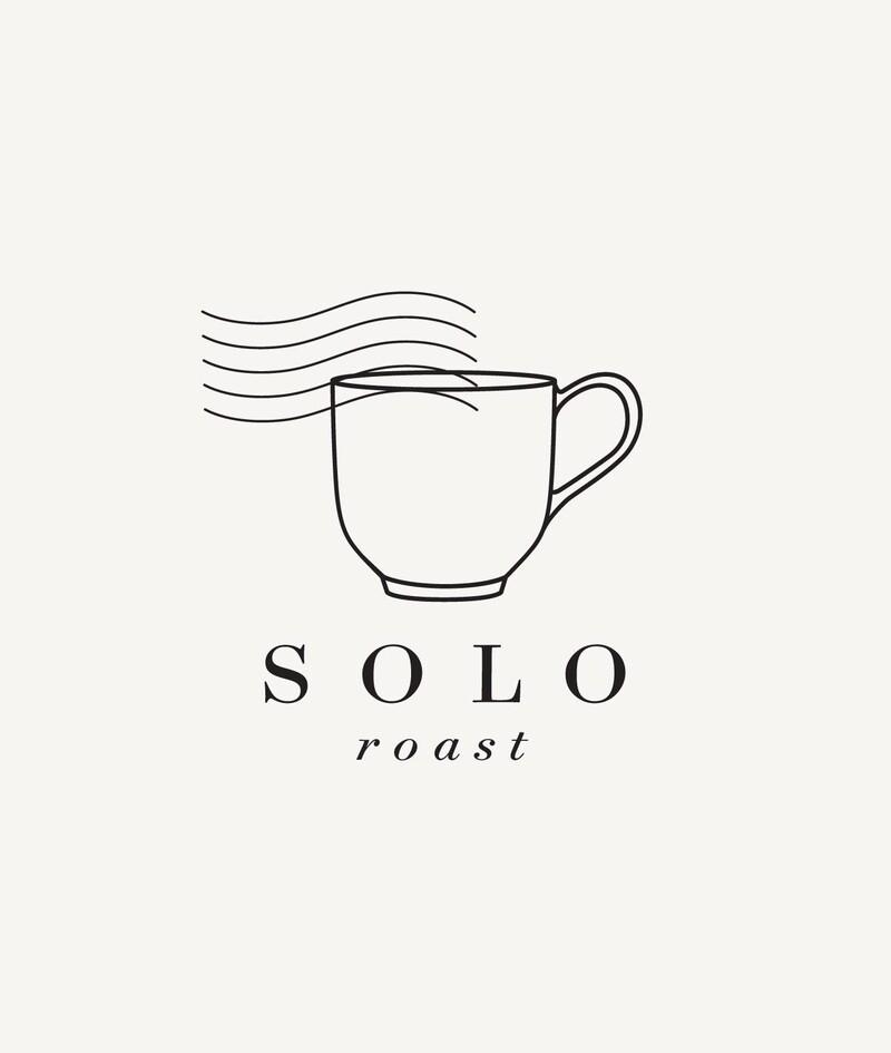 Solo roast coffee branding packaging design10