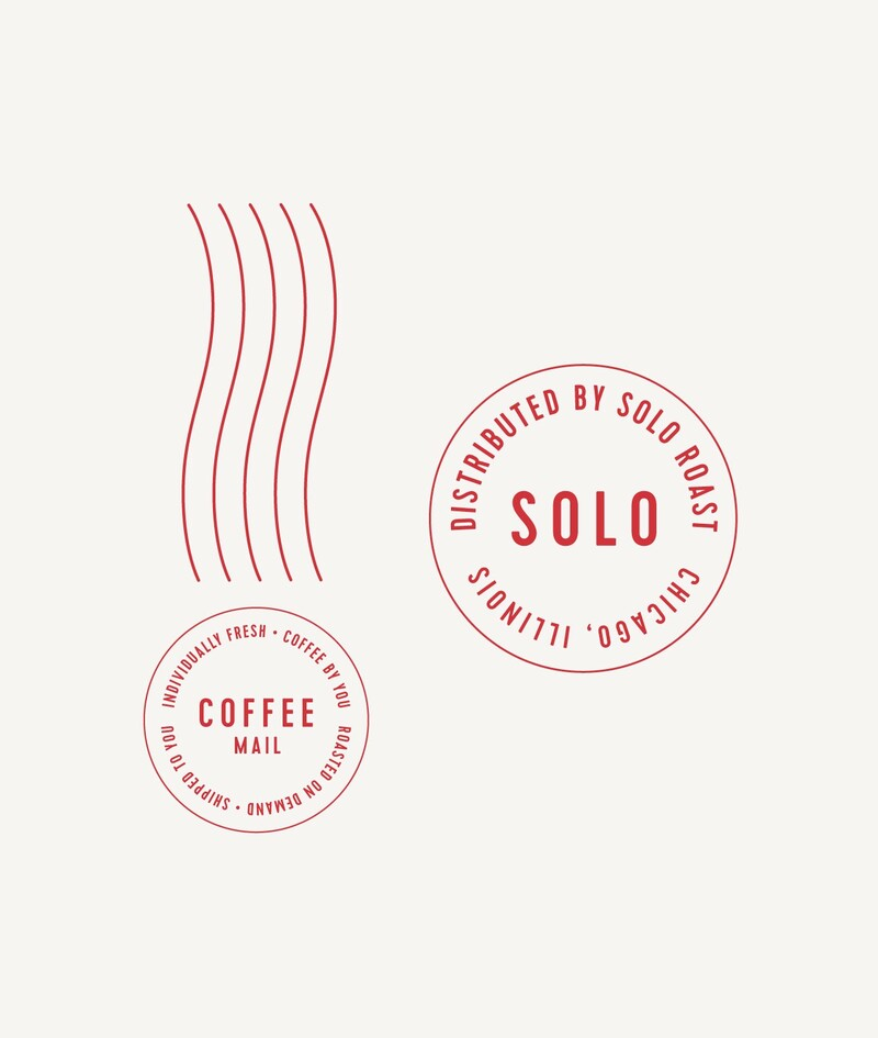 Solo roast coffee branding packaging design11