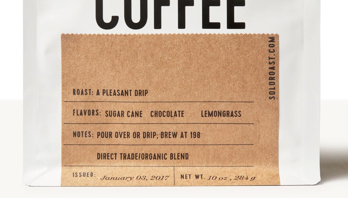 Solo roast coffee branding packaging design13