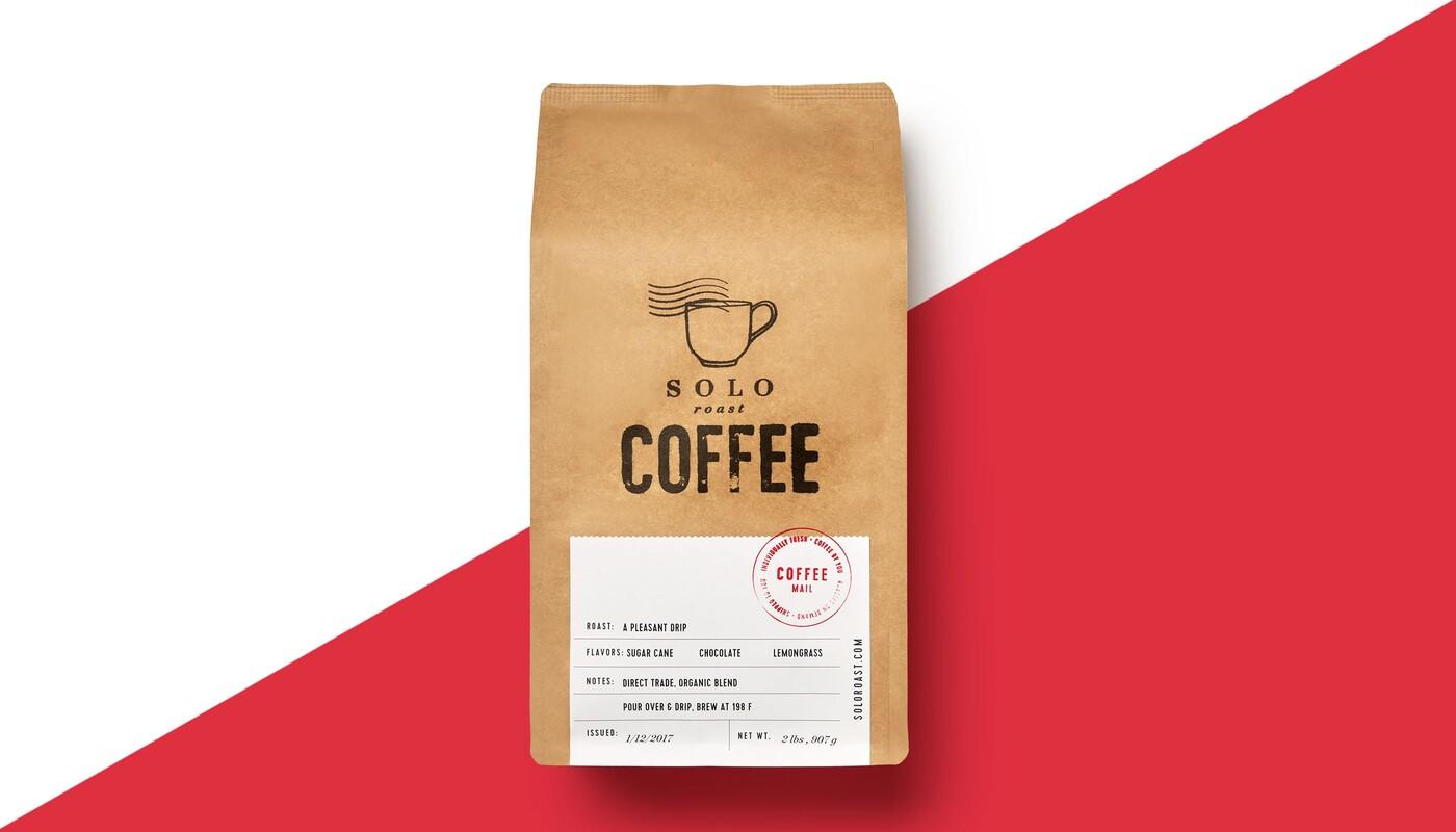 Solo roast coffee branding packaging design15