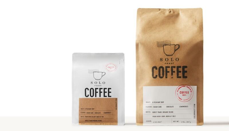 Solo roast coffee branding packaging design16