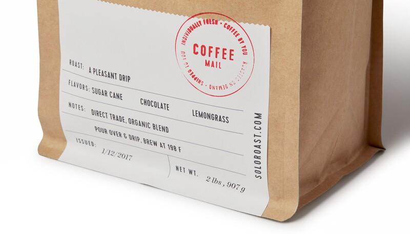 Solo roast coffee branding packaging design17